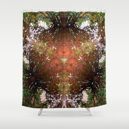 A Call For Calm No 1 Shower Curtain