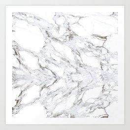 Marble  (1) Art Print