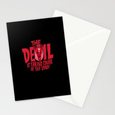 The Devil and Lee Bright  Stationery Cards