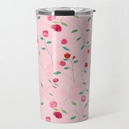 Rosebud Travel Mug