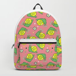 Sweetie Greenie Snail Backpack
