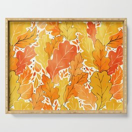 Fall Serving Tray
