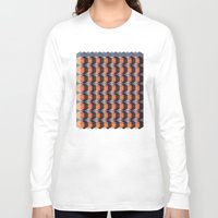 geo Long Sleeve T-shirts featuring geo  by Little Things Studio