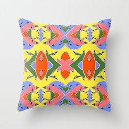 Sharp Angles Throw Pillow