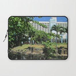 Caribe Hilton Atlantic Garden, San Juan, Puerto Rico, before Maria Laptop Sleeve