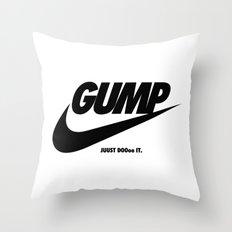 Gump Just Do It Throw Pillow