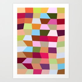 The Jelly Beans Art Print