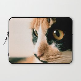 Thinking Cat Laptop Sleeve