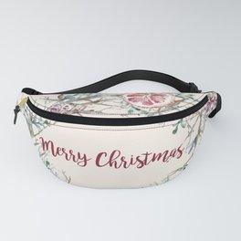 Xmas Wreath Fanny Pack