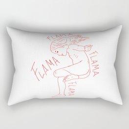 Voy Flama Rectangular Pillow