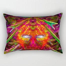 Medusa's Rage Rectangular Pillow