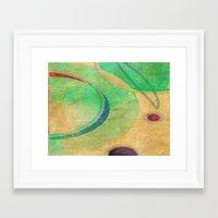 breakfast Framed Art Prints featuring Breakfast by Fernando Vieira