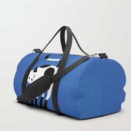 Abstraction_CAT_BLUE Duffle Bag