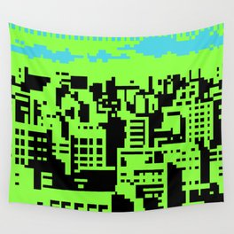 cityscape 07A (C64 remix) (2011) Wall Tapestry