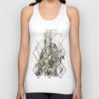 starry night Tank Tops featuring Starry Night by Heidi Fairwood