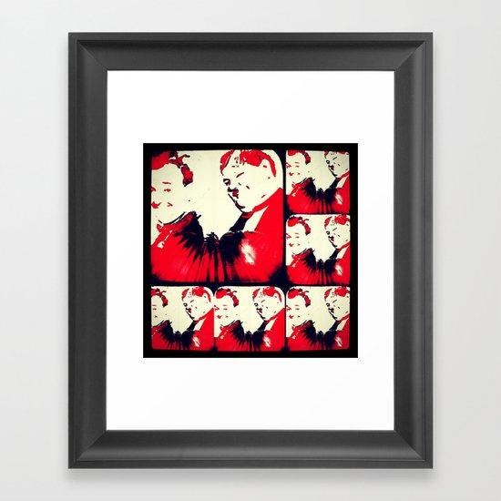 Levity Framed Art Print
