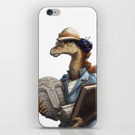 Archeology Stegosaurus iPhone Skin