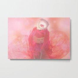 Pink Angel Metal Print