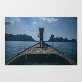 Let's Drift Away Canvas Print