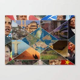 Leaders from Around the Globe Canvas Print