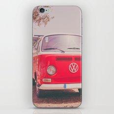 Red Ride iPhone & iPod Skin