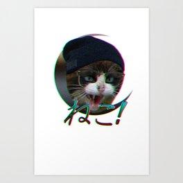 NEKO! Art Print