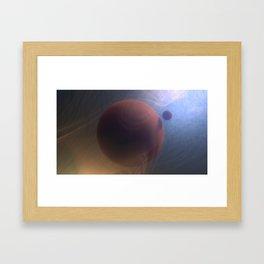 Sunweave Galaxy Framed Art Print