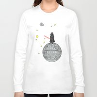 le petit prince Long Sleeve T-shirts featuring Le Petit Vader by Beth Naeyaert