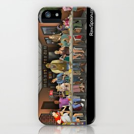 Today's Last Supper iPhone Case