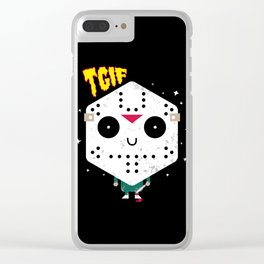 TGIF! Clear iPhone Case