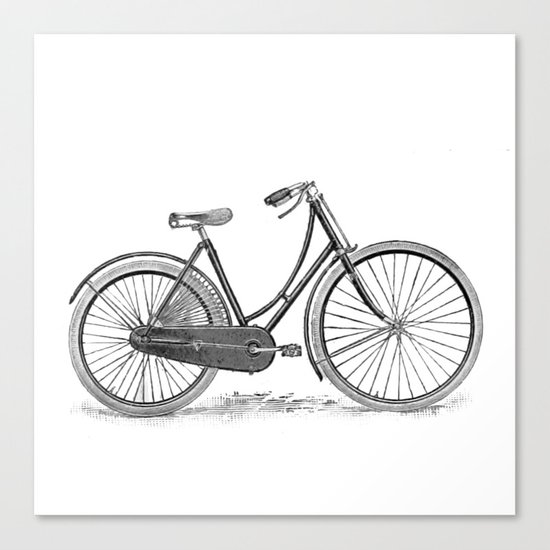 Bicycle 2 Canvas Print