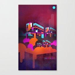CUBE.HEARDS [03.09.14] Canvas Print