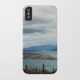 Bove Island Tagish Lake iPhone Case