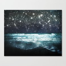 The Greek Upon the Stars Canvas Print