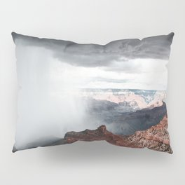 a storm in the grand canyon Pillow Sham