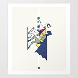 The POW! of love Art Print