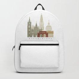 Guadalajara skyline poster Backpack