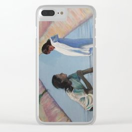 Growing conversations Clear iPhone Case