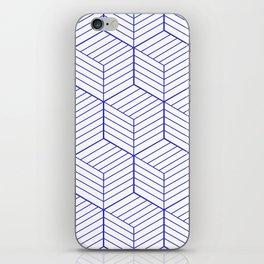 ZADA ((berry blue)) iPhone Skin