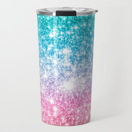 Mermaid Galaxy Sparkle Stars Travel Mug