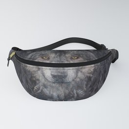 The Winter is here - Wolf Dreamcatcher Fanny Pack