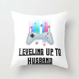 Groom Funny Wedding Party Throw Pillow