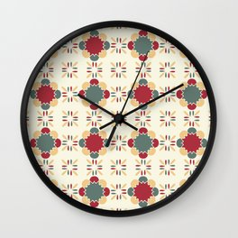 Póvoa Tile Wall Clock