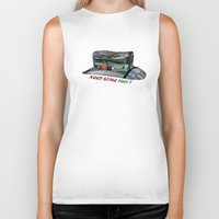 pocket fuel Biker Tanks featuring Need Some Fuel ? by Avigur