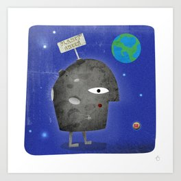 Charlie Sheen - Planet Sheen Art Print