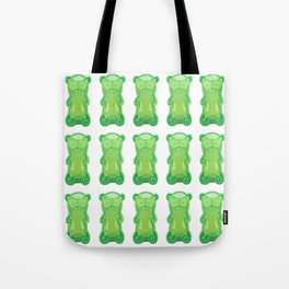 gummy bears green grape flavor Tote Bag