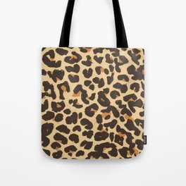 Just Leopard Tote Bag