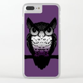 Ace Owl Clear iPhone Case