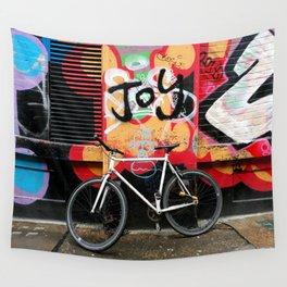 Joy & bike Wall Tapestry