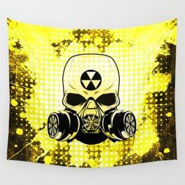 Guerrilla Nuclear Warrior Wall Tapestry
